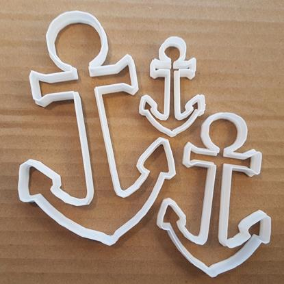 Picture of Anchor Maritime Ship Sail Shape Cookie Cutter Dough Biscuit Pastry Fondant Sharp