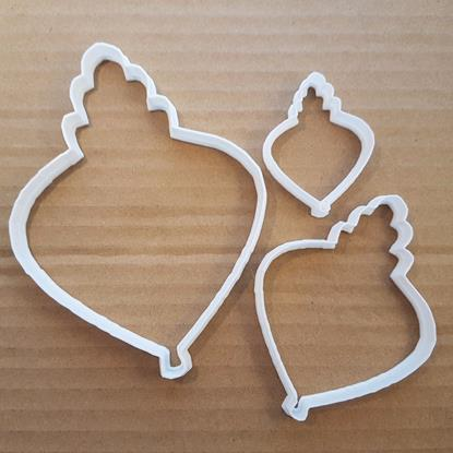 Picture of Bauble Christmas Decoration Shape Cookie Cutter Dough Biscuit Pastry Stencil