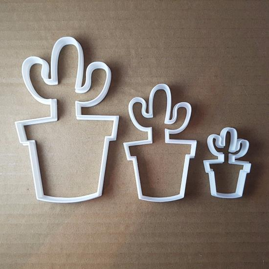 Picture of Cactus Cacti Plant Flower Desert Cookie Cutter Biscuit Pastry Fondant Sharp