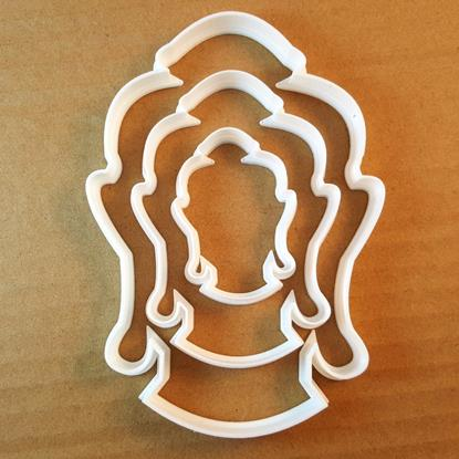 Picture of Buddha Gautama Buddhism Shape Cookie Cutter Dough Biscuit Pastry Fondant Sharp