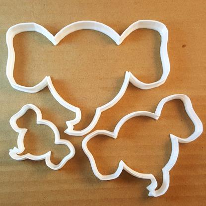 Picture of Elephant Head Shape Cookie Cutter Dough Biscuit Pastry Fondant Sharp Animal