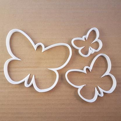 Picture of Butterfly Insect Animal Shape Cookie Cutter Dough Biscuit Pastry Fondant Sharp