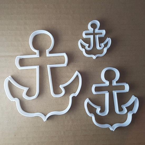 Picture of Anchor Sea Bed Marine Shape Cookie Cutter Beach Biscuit Pastry Fondant Sharp