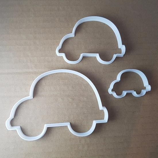 Picture of Car Vehicle Bug Transport Shape Cookie Cutter Dough Biscuit Pastry Fondant Sharp