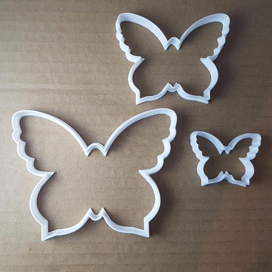 Picture of Butterfly Moth Insect Shape Cookie Cutter Animal Biscuit Pastry Fondant Sharp