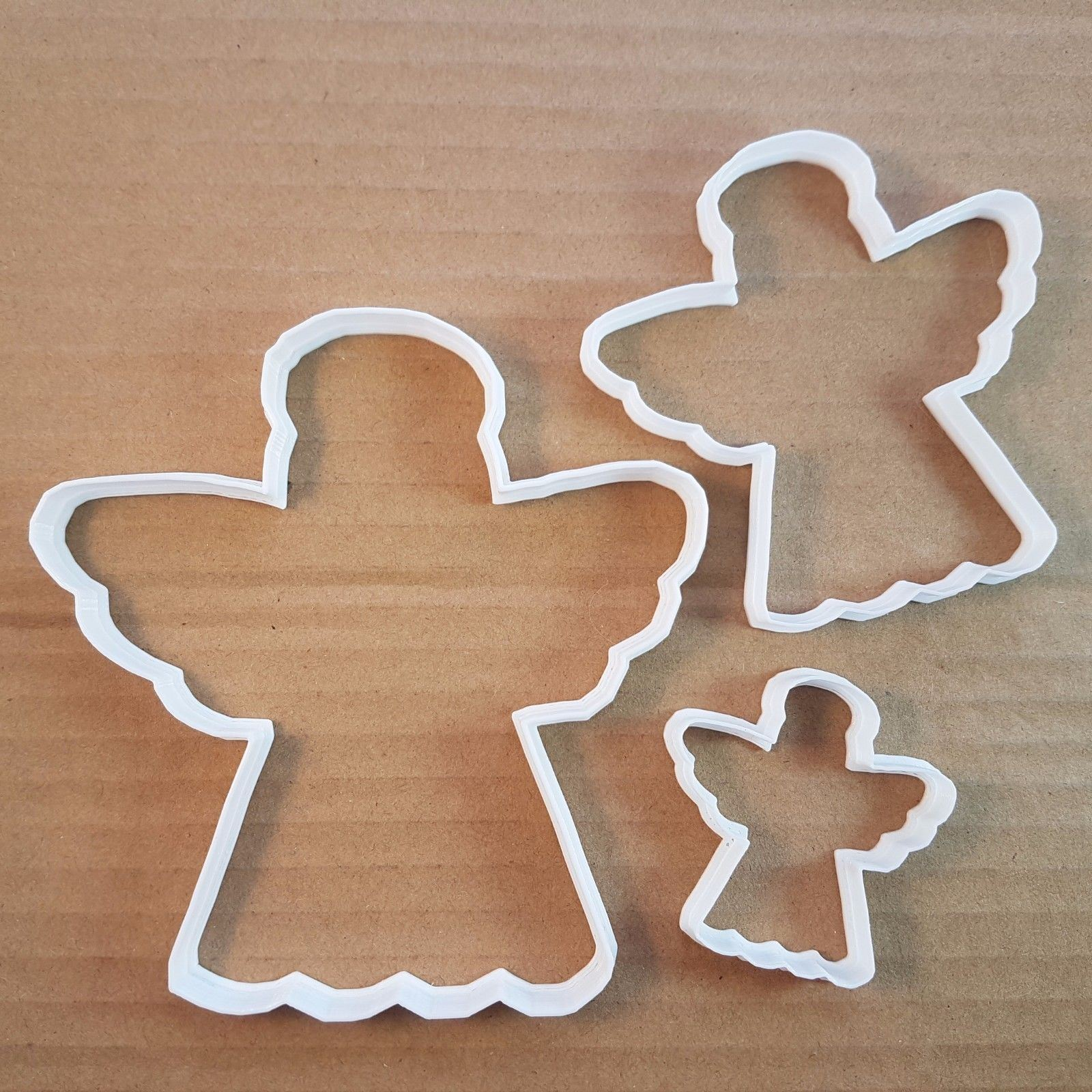 Angel Christmas Xmas Holy Shape Cookie Cutter Dough Biscuit Pastry Fondant Sharp