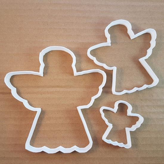 Picture of Angel Christmas Xmas Holy Shape Cookie Cutter Dough Biscuit Pastry Fondant Sharp