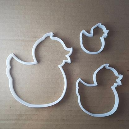 Picture of Duck Duckling Bird Chick Shape Cookie Cutter Animal Biscuit Pastry Fondant Sharp