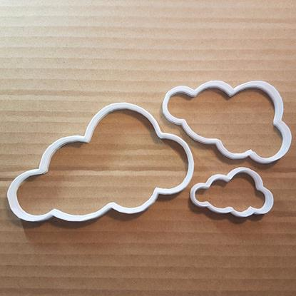 Picture of Cloud Sky Weather Shape Cookie Cutter Dough Biscuit Pastry Fondant Sharp