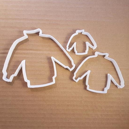 Picture of Jumper Shape Cookie Cutter Sweater Pastry Biscuit Christmas Clothes Top Stencil