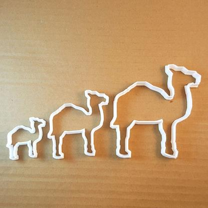 Picture of Camel Hump Animal Shape Cookie Cutter Dough Biscuit Pastry Fondant Sharp