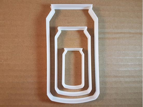 Picture of Can Fizzy Drink Beer Shape Cookie Cutter Dough Biscuit Pastry Fondant Sharp