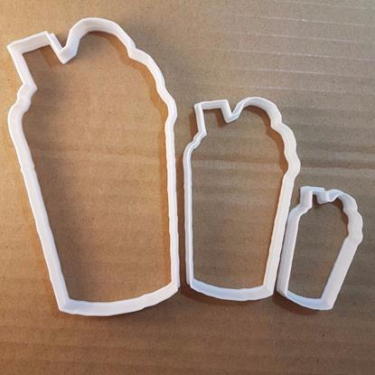 Picture of Milkshake Drink Cream Cup Shape Cookie Cutter Dough Biscuit Pastry Fondant Sharp