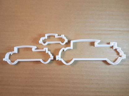 Picture of Car Vintage Classic Shape Cookie Cutter Dough Biscuit Pastry Fondant Sharp