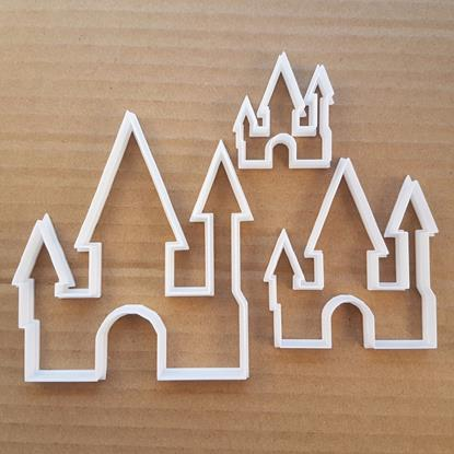 Picture of Castle Palace Tower Shape Cookie Cutter Dough Biscuit Pastry Fondant Sharp