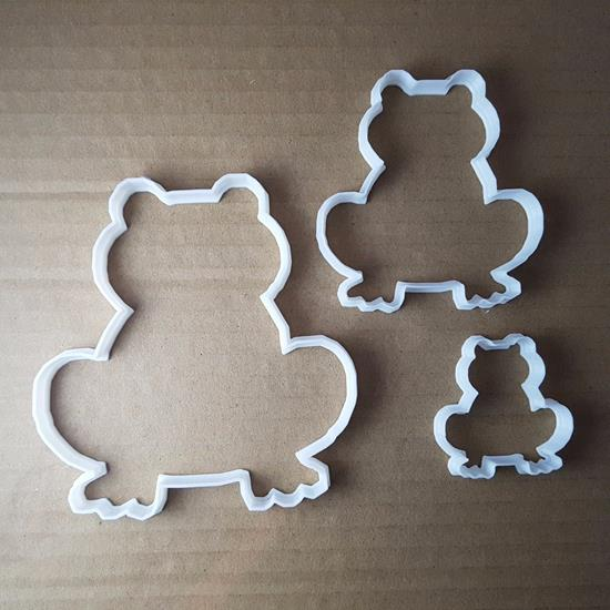 Picture of Frog Amphibian Pond Shape Cookie Cutter Animal Biscuit Pastry Fondant Sharp