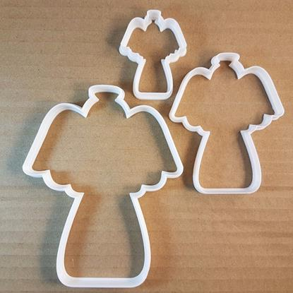 Picture of Angel Halo Christmas Shape Cookie Cutter Dough Biscuit Xmas Pastry Fondant Sharp