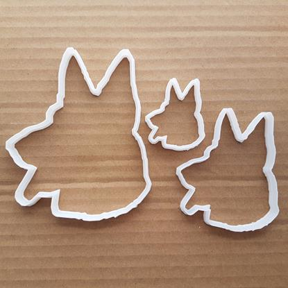Picture of Dog Alsatian Animal Pet Shape Cookie Cutter Dough Biscuit Pastry Fondant Sharp