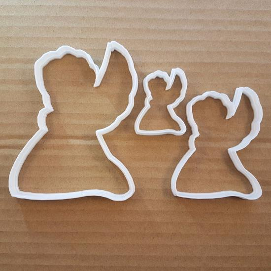 Picture of Angel Saint Cherub Xmas Shape Cookie Cutter Dough Biscuit Pastry Fondant Sharp