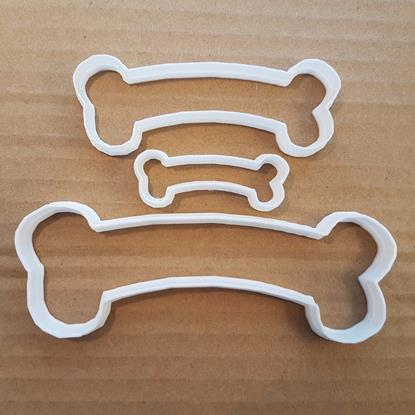 Picture of Bone Shape Cookie Cutter Dough Biscuit Pastry Dog Biscuits Skeleton Bones Treats