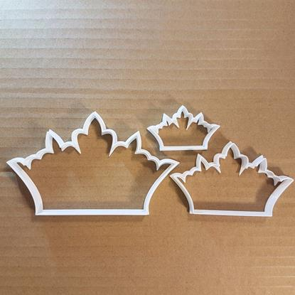 Picture of Crown King Queen Jewels Shape Cookie Cutter Dough Biscuit Pastry Fondant Sharp