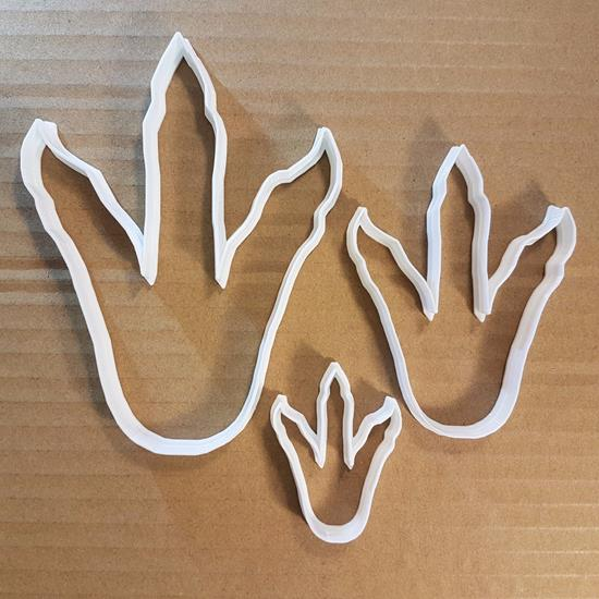 Picture of Dinosaur Foot Print T-Rex Animal Cookie Cutter Claw Biscuit Pastry Fondant Sharp