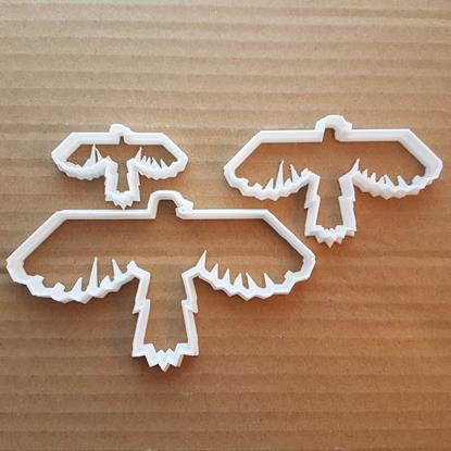 Picture of Bird Eagle Kestrel Animal Shape Cookie Cutter Dough Biscuit Pastry Fondant Sharp