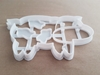 Cow Dairy Farm Animal Shape Cookie Cutter Dough Biscuit Pastry Fondant Stamp Stencil Sharp Mammal