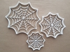 Spider Web Insect Creepy Shape Cookie Cutter Dough Biscuit Pastry Fondant Sharp Stencil Halloween Bug Spooky Animal Scary