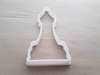 Chess Piece Bishop Game Shape Cookie Cutter Dough Biscuit Pastry Fondant Sharp Stencil