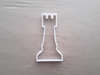 Chess Piece Rook Castle Shape Cookie Cutter Dough Biscuit Pastry Fondant Sharp Stencil Board Game