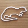 Otter Weasel River Pond Shape Cookie Cutter Dough Biscuit Pastry Fondant Sharp Stencil Animal