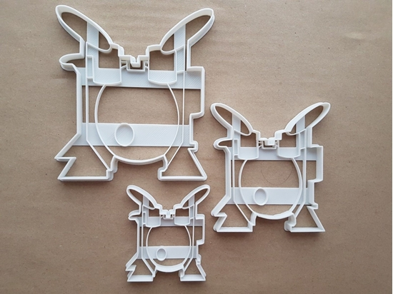 Drum Kit Band Instrument Shape Cookie Cutter Dough Biscuit Pastry Fondant Sharp Stencil Set Musical Music