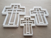 Latin Christian Cross Religion Shape Cookie Cutter Dough Biscuit Fondant Sharp Stencil Spiritual Religious