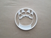 Elephant Foot Print Paw Shape Cookie Cutter Dough Biscuit Pastry Fondant Sharp Stencil Animal Mammal Pawprint Footprint