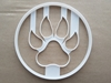 Lion Paw Print Foot Tiger Shape Cookie Cutter Dough Biscuit Pastry Fondant Sharp Stencil Big Cat Mammal Claw Animal Footprint