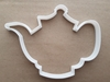 Tea Pot Brew Vintage Shape Cookie Cutter Dough Biscuit Pastry Fondant Sharp Stencil Antique Afternoon Teapot Set Drink