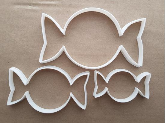Sweet Candy Food Wrapper Shape Cookie Cutter Dough Biscuit Pastry Fondant Sharp Stencil Dessert