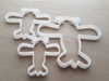 Plane Flight Aero Vintage Shape Cookie Cutter Dough Biscuit Pastry Fondant Sharp Stencil Airplane Aeroplane Vehicle Jet