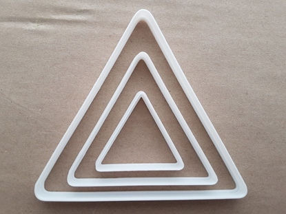 Decagon Ten Side Polygon Shape Cookie Cutter Dough Biscuit Pastry Fondant Sharp