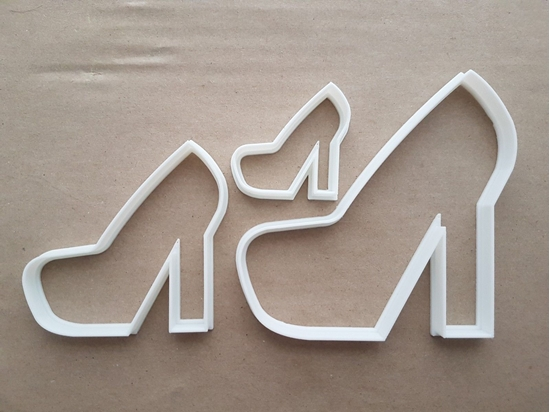 Shoe Boot Platform Heel Shape Cookie Cutter Dough Biscuit Pastry Fondant Sharp Stencil Stiletto High Heels Hen Night Bachelorette Party