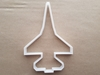 Fighter Jet Plane Army Shape Cookie Cutter Dough Biscuit Pastry Fondant Sharp Stencil Aeroplane Airplane Vehicle
