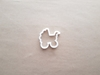 Pram Buggy Push Chair Baby Shape Cookie Cutter Dough Biscuit Fondant Sharp Stencil Shower Christening Pushchair