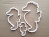 Seahorse Fish Coral Shape Cookie Cutter Dough Biscuit Pastry Fondant Sharp Sea Horse Stencil Beach Creature Animal Ocean Fish