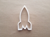 Rocket Ship Space Missile Shape Cookie Cutter Dough Biscuit Pastry Fondant Sharp Stencil Vehicle Spacecraft