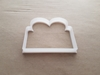 Present Gift Birthday Xmas Shape Cookie Cutter Dough Biscuit Fondant Sharp Stencil Christmas Giftbox
