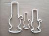 Bong Tobacco Herb Smoke Shape Cookie Cutter Dough Biscuit Pastry Fondant Sharp Stencil