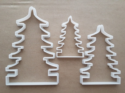 Asian Pagoda Tower Tiered Shape Cookie Cutter Dough Biscuit Pastry Fondant Sharp Stencil Building Chinese Japanese House Roof