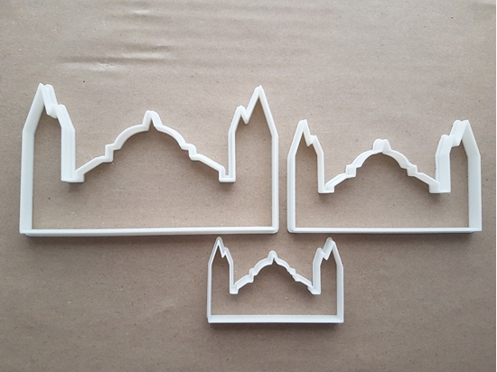 Hagia Sofia Turkey Museum Shape Cookie Cutter Dough Biscuit Pastry Fondant Sharp Stencil Turkish Building Landmark
