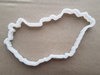 Hungary Country Map Shape Cookie Cutter Dough Biscuit Pastry Fondant Sharp Stencil Hungarian Atlas Outline